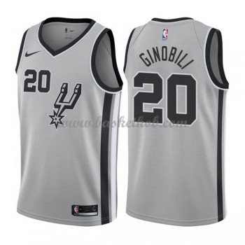 San Antonio Spurs Basketball Trøjer 2018 Manu Ginobili 20# Statement Edition