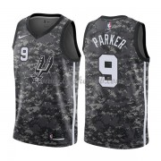 San Antonio Spurs Basketball Trøjer 2018 Tony Parker 9# City Edition..
