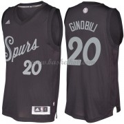 San Antonio Spurs 2016 Manu Ginobili 20# Jul NBA Basketball Trøjer..