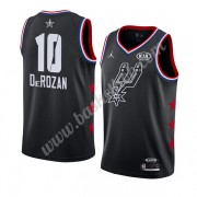 San Antonio Spurs 2019 Demar Derozan 10# Sort All Star Game Swingman Basketball Trøjer..