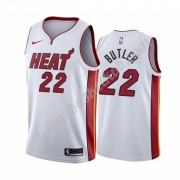 Miami Heat Basketball Trøjer NBA 2019-20 Jimmy Butler 22# Hvid Association Edition Swingman..