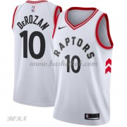 NBA Basketball Trøje Børn Toronto Raptors 2018 DeMar DeRozan 10# Association Edition..