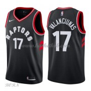 NBA Basketball Trøje Børn Toronto Raptors 2018 Jonas Valanciunas 17# Statement Edition..