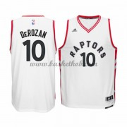 Toronto Raptors Basketball Trøjer 2015-16 DeMar DeRozan 10# Home..