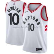 Toronto Raptors Basketball Trøjer 2018 DeMar DeRozan 10# Association Edition..
