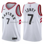 Toronto Raptors Basketball Trøjer 2018 Kyle Lowry 7# Association Edition..