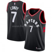 Toronto Raptors Basketball Trøjer 2018 Kyle Lowry 7# Statement Edition..