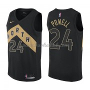 Toronto Raptors Basketball Trøjer 2018 Norman Powell 24# City Edition..