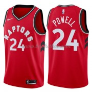 Toronto Raptors Basketball Trøjer 2018 Norman Powell 24# Icon Edition..