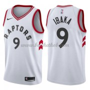 Toronto Raptors Basketball Trøjer 2018 Serge Ibaka 9# Association Edition..