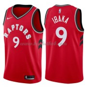 Toronto Raptors Basketball Trøjer 2018 Serge Ibaka 9# Icon Edition..