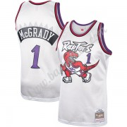 Toronto Raptors Basketball Trøjer NBA 1998-99 Tracy McGrady 1# Platinum Hardwood Classics Swingman..