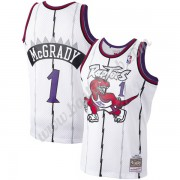 Toronto Raptors Basketball Trøjer NBA 1998-99 Tracy McGrady 1# Hvid Hardwood Classics Swingman..