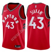 Toronto Raptors Basketball Trøjer NBA 2019-20 Pascal Siakam 43# Rød Icon Edition Swingman..