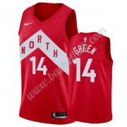 Toronto Raptors Basketball Trøjer NBA 2019-20 Danny Green 14# Rød Earned Edition Swingman..