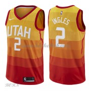 NBA Basketball Trøje Børn Utah Jazz 2018 Joe Ingles 2# City Edition..