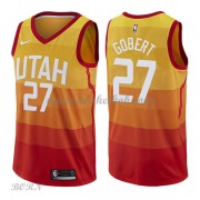 NBA Basketball Trøje Børn Utah Jazz 2018 Rudy Gobert 27# City Edition..