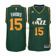 Utah Jazz Basketball Trøjer 2015-16 Derrick Favors 15# Alternate..
