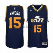 Utah Jazz Basketball Trøjer 2015-16 Derrick Favors 15# Road..