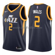 Utah Jazz Basketball Trøjer 2018 Joe Ingles 2# Icon Edition..