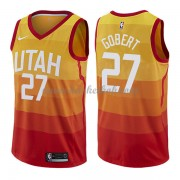 Utah Jazz Basketball Trøjer 2018 Rudy Gobert 27# City Edition..