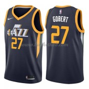 Utah Jazz Basketball Trøjer 2018 Rudy Gobert 27# Icon Edition..