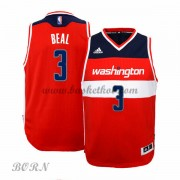 NBA Basketball Trøje Børn Washington Wizards 2015-16 Bradley Beal 3# Road..