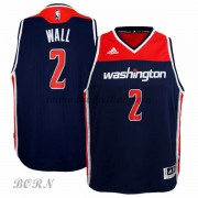 NBA Basketball Trøje Børn Washington Wizards 2015-16 John Wall 2# Alternate..