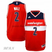 NBA Basketball Trøje Børn Washington Wizards 2015-16 John Wall 2# Road..