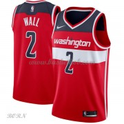 NBA Basketball Trøje Børn Washington Wizards 2018 John Wall 2# Icon Edition..