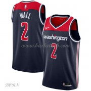 NBA Basketball Trøje Børn Washington Wizards 2018 John Wall 2# Statement Edition..