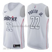 NBA Basketball Trøje Børn Washington Wizards 2018 Otto Porter Jr. 22# City Edition..
