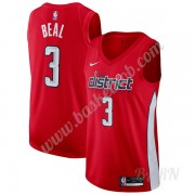 Billige Basketball Trøje Børn Washington Wizards 2019-20 Bradley Beal 3# Rød Earned Edition Swingman..