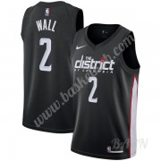 Billige Basketball Trøje Børn Washington Wizards 2019-20 John Wall 2# Sort City Edition Swingman..