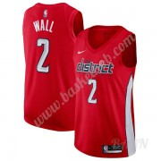 Billige Basketball Trøje Børn Washington Wizards 2019-20 John Wall 2# Rød Earned Edition Swingman..