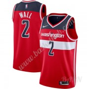 Billige Basketball Trøje Børn Washington Wizards 2019-20 John Wall 2# Rød Icon Edition Swingman..
