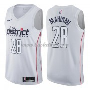 Washington Wizards Basketball Trøjer 2018 Ian Mahinmi 28# City Edition..