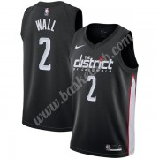 Washington Wizards Basketball Trøjer NBA 2019-20 John Wall 2# Sort City Edition Swingman..