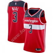Washington Wizards Basketball Trøjer NBA 2019-20 Bradley Beal 3# Rød Icon Edition Swingman..