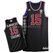 West All Star Game 2015 Demarcus Cousins 15# NBA Swingman Basketball Trøjer