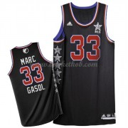 West All Star Game 2015 Marc Gasol 33# NBA Swingman Basketball Trøjer..