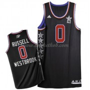 West All Star Game 2015 Russell Westbrook 0# NBA Swingman Basketball Trøjer