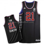 West All Star Game 2015 Tim Duncan 21# NBA Swingman Basketball Trøjer