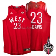 West All Star Game 2016 Anthony Davis 23# NBA Swingman Basketball Trøjer..