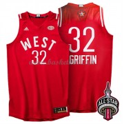 West All Star Game 2016 Blake Griffin 32# NBA Swingman Basketball Trøjer..