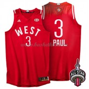 West All Star Game 2016 Chris Paul 3# NBA Swingman Basketball Trøjer..