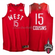 West All Star Game 2016 Demarcus Cousins 15# NBA Swingman Basketball Trøjer..