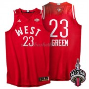 West All Star Game 2016 Draymond Green 23# NBA Swingman Basketball Trøjer..