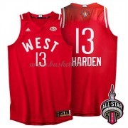 West All Star Game 2016 James Harden 13# NBA Swingman Basketball Trøjer..