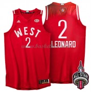 West All Star Game 2016 Kawhi Leonard 2# NBA Swingman Basketball Trøjer..